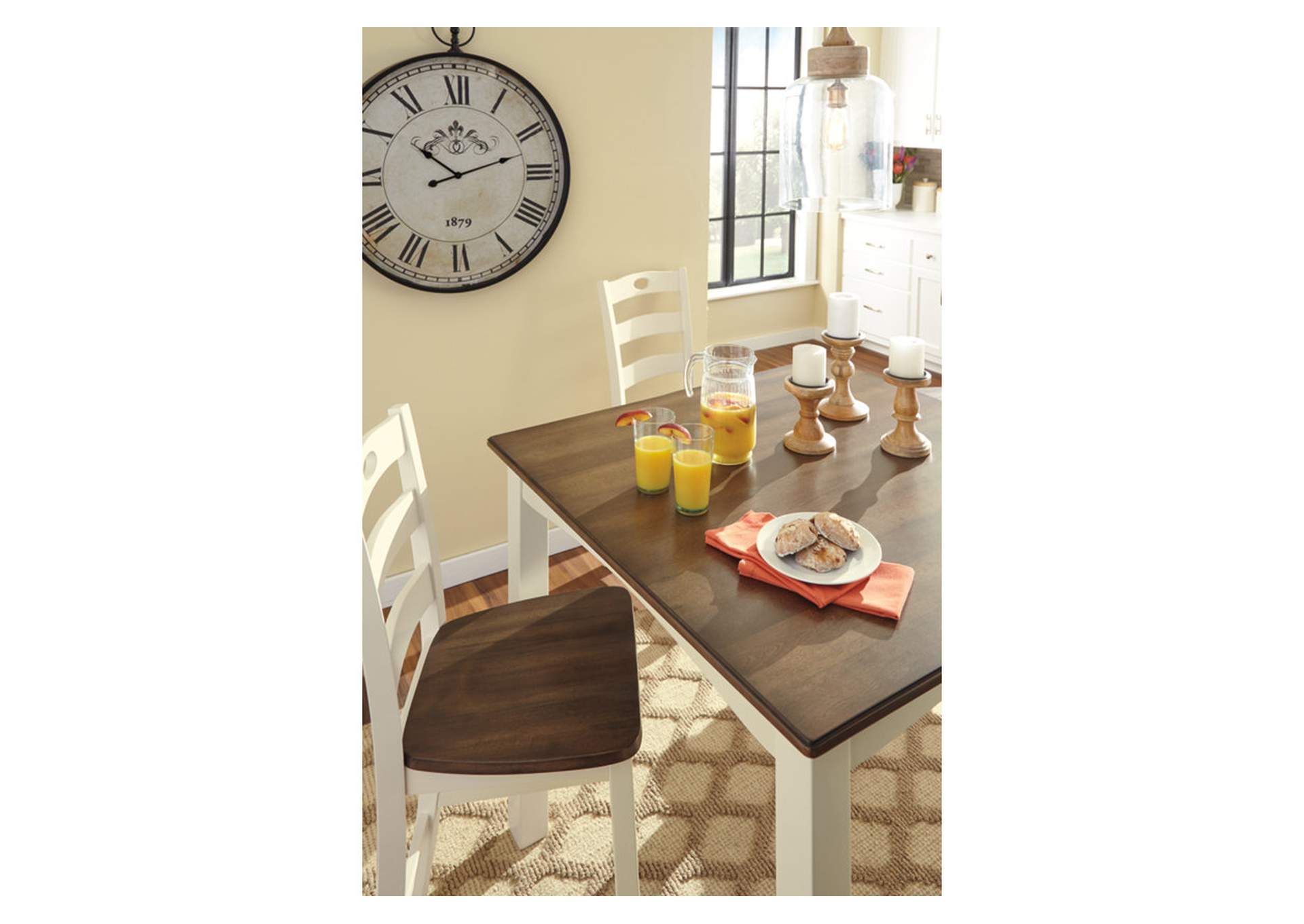 Woodanville Counter Height Dining Room, Woodanville Dining Room Table And Chairs